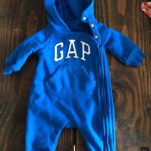 Gap zip up body suit